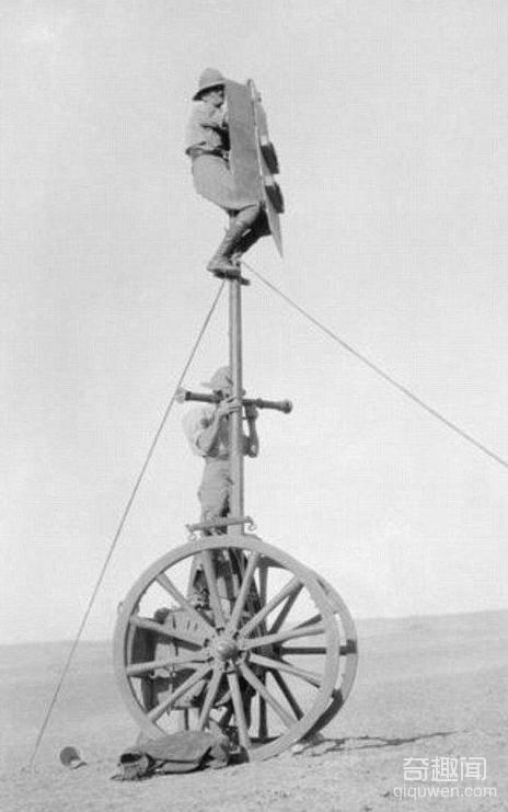 一战中那些匪夷所思的发明亮瞎眼,跟他们比起来我们还是太嫩了(2)