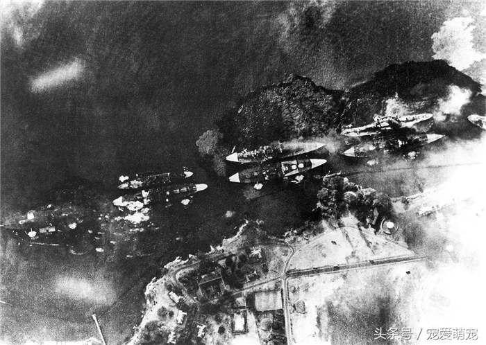 1941年12月7日,日本偷袭珍珠港的罕见照片(5)
