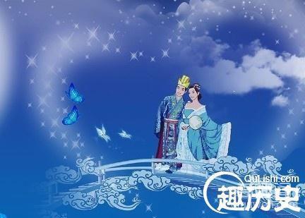 """关于七夕节牛郎织女的传说  七夕节亦称""""乞巧节"""""""