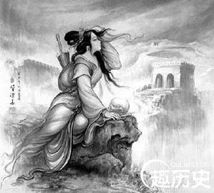 范喜良被残暴的秦始皇害死 孟姜女哭长城的神话传说