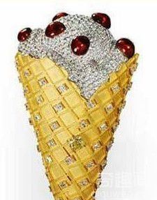 世界上最贵的冰激凌 价值2.5万美元【组图】