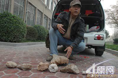 [图文]驴友太行山探险发现动物化石