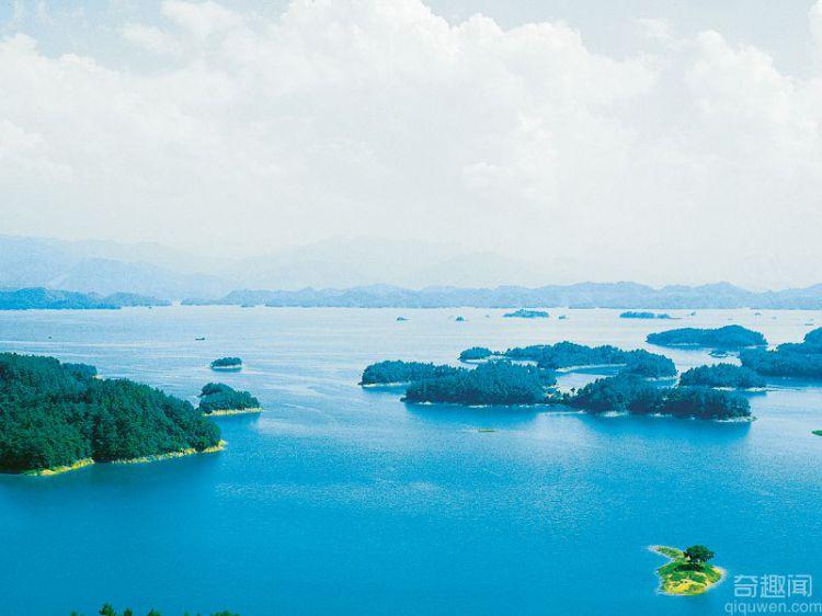 农夫山泉水源地之一的千岛湖