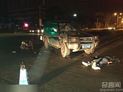 惠州:骑助力车听耳机撞上越野车当场死亡