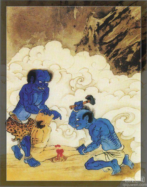 揭秘阎罗王掌握的第五殿 叫唤大地狱的恐怖