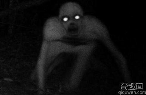 美国猎人森林拍到幽灵怪物 颇似蜘蛛侠