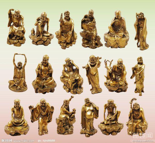 十八罗汉的传说 十八罗汉成神的故事