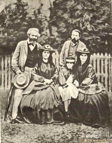 [图文]伟人的身后:马克思与他的四个女秘书事迹
