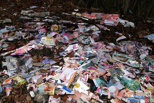 诡异!林中废弃小屋不断堆满色情书和女性内裤