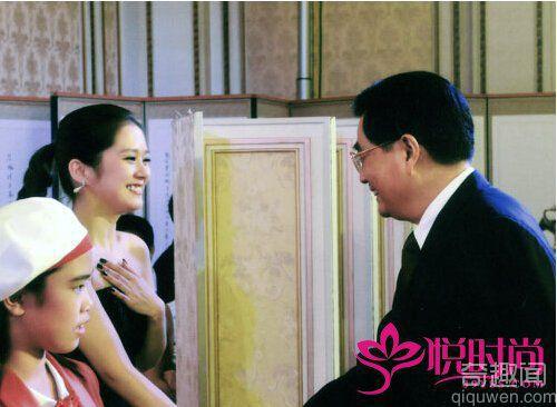 俄总理接见黄晓明 八一八那些上达天听的明星