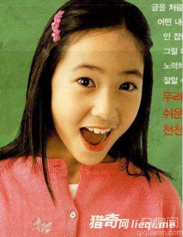 """韩国公认10大没有人工痕迹的""""自然美女"""""""