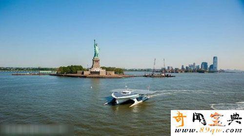 世界最大太阳能船用短短22天能横渡大西洋