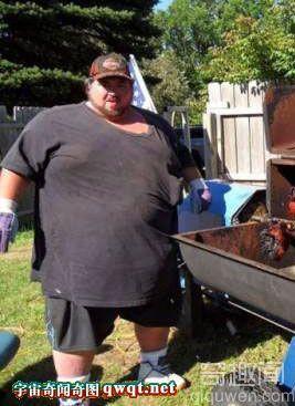世界最胖的肥人如肉团狂照大观