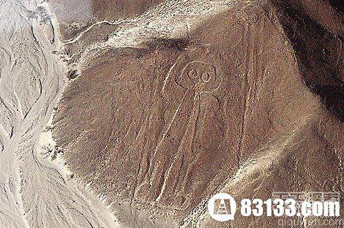 神秘的纳斯卡线条 竟然出现宇航员图案