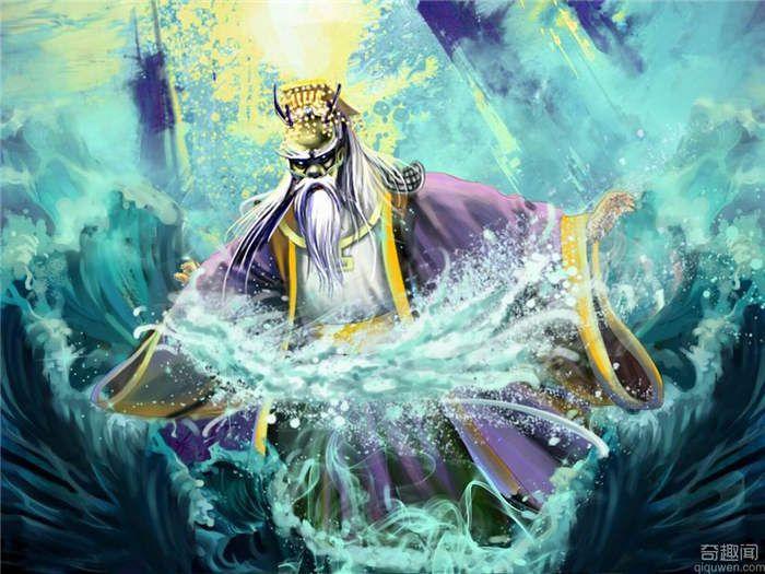 四海龙王——西海龙王的来历 敖闰的传说