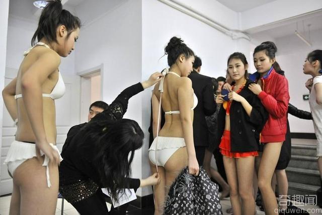 走进中国超模大赛 选拔过程及后台照片曝光