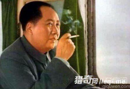 毛泽东的香烟中竟掺这东西!可止咳、化痰,减少烟里的有害成分