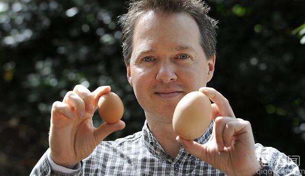 世界上最大的鸡蛋 重156克