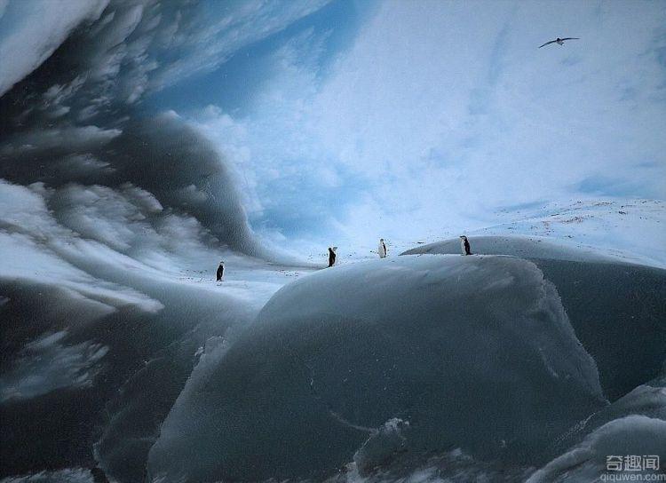 世界最古老冰山 已冻结3万余年
