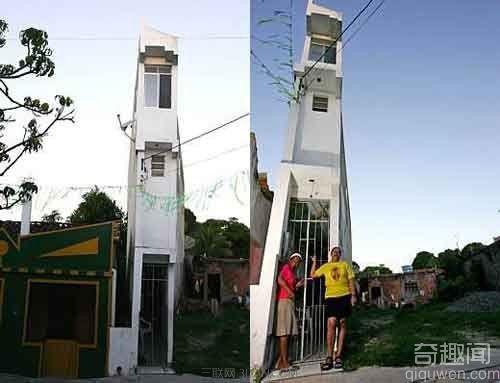 世界上最窄的楼 最窄的地方只有1米