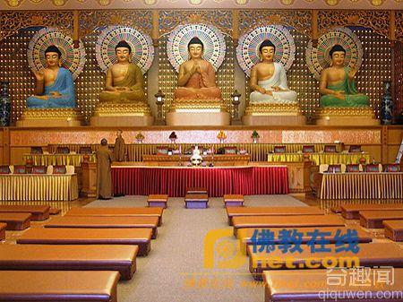 至今仍然保留的五方五佛寺 五方佛简史
