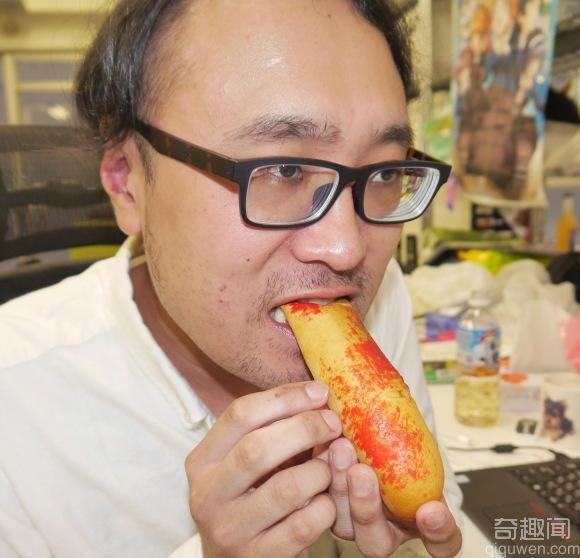 血淋淋的指甲面包 你敢吃吗