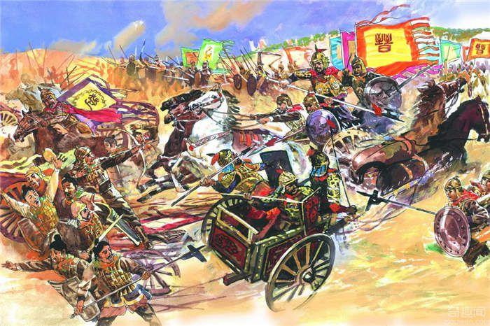 邲之战——晋国霸业衰败的起点 楚庄王联齐制秦