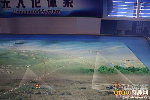 [图文]中国无人攻击机亮相 挂中国版地狱火导弹