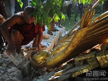 佛塔不倒之谜 揭秘地震时寺庙佛塔不倒的原因