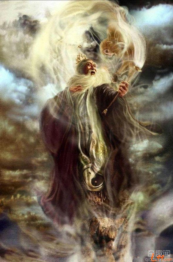 揭秘:神话故事的太上老君真的是老子吗?老子活了多久