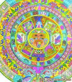 """[图文]墨西哥国宝""""太阳石""""记录两种历法"""