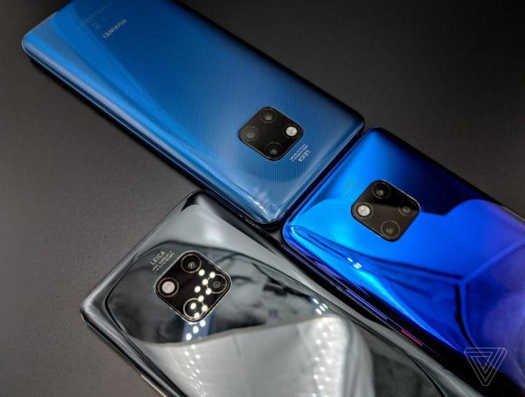一线 华为发布Mate 20系列 石墨烯技术首次运用于手机