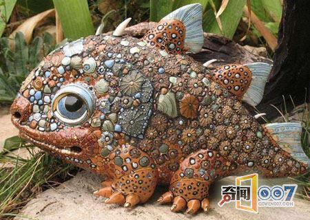 宛如童话般美丽的精致陶瓷小怪物,必须抱一个回家