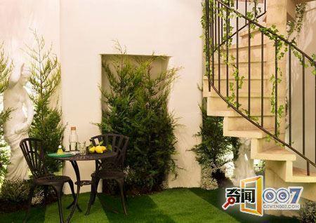 植物绿主题民宿 如同住在仙境中