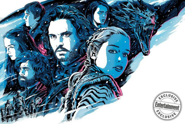 《权力的游戏》最终季原本要拍成电影?雪诺读剧本哭了两次