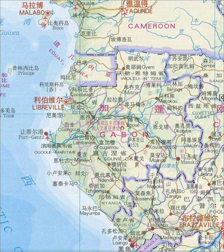 赤道几内亚和加蓬为何争夺一个小岛?
