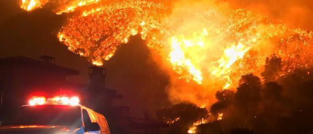 加州死亡人数曾经最多的一次火灾,洛杉矶最大公园遭遇荼毒