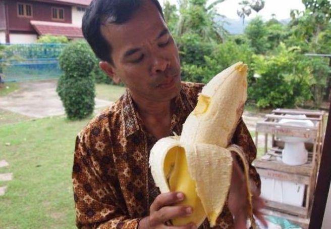 外国这一村庄的香蕉很奇特,吃一个就撑了,问其原因更让人想不通