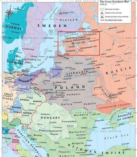 大北方战争:瑞典为何主动进攻波兰而不打俄罗斯?