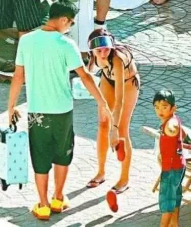 港媒曝张柏芝三胎儿子父亲是谢霆锋 两人下个月将复婚?