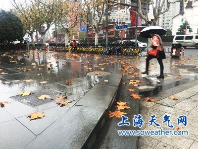 冷空气今午后起逐渐影响本市 今降水较明显