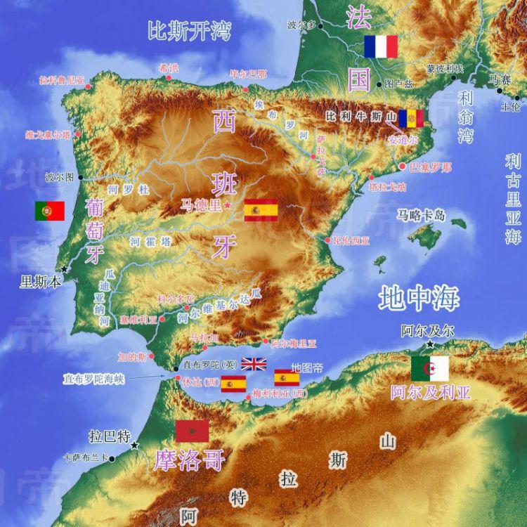 西班牙在非洲有哪两座城市?