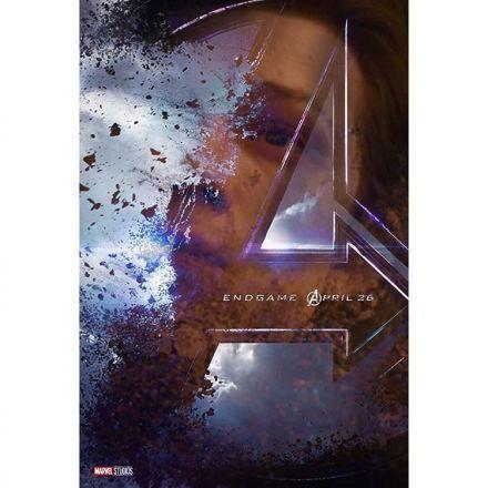 《复联4》海报美队疑似死亡血染雪地,这么扎心居然是粉丝做的?