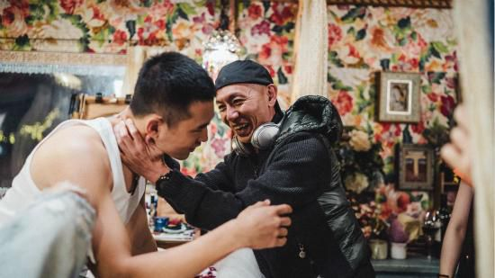 林超贤新片《紧急救援》曝片场照