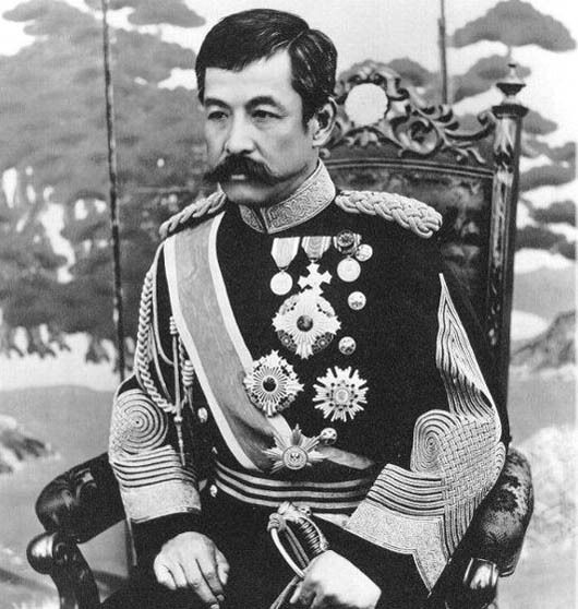 死得最惨的日本亲王,先被火烧,又踩了地雷,最后感染而死