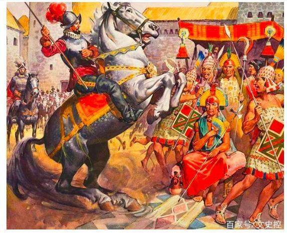169名西班牙人对阵数万印加人,结果印加士兵死亡7千,皇帝被俘