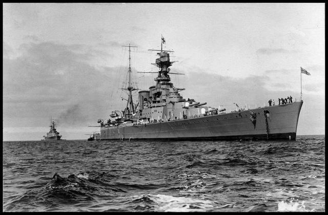 二战时的英国太平洋舰队:20余艘航母,就问日本服不服