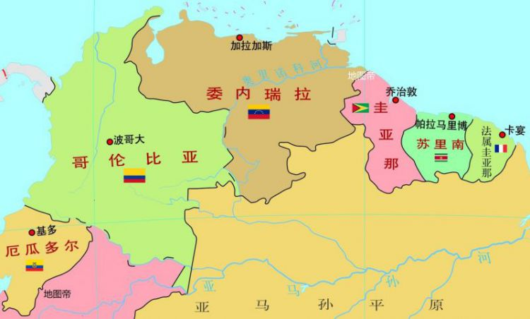 委内瑞拉被西班牙统治三百年,是如何自立的?
