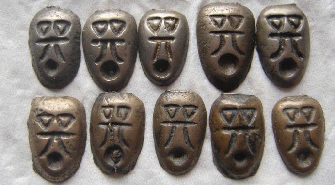 两千年前,楚国有一种神秘的鬼脸钱,这种钱自带三个难解谜团