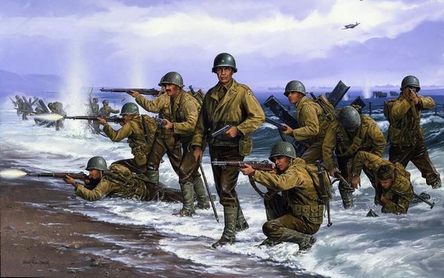 二战末期的没落行动,数百万美军计划登陆日本本土作战